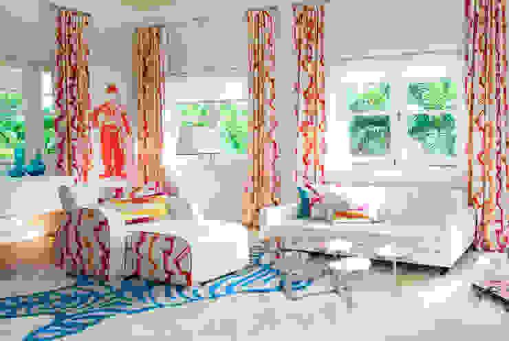 Colourful Bedroom Design by Design Intervention Design Intervention Modern style bedroom Multicolored