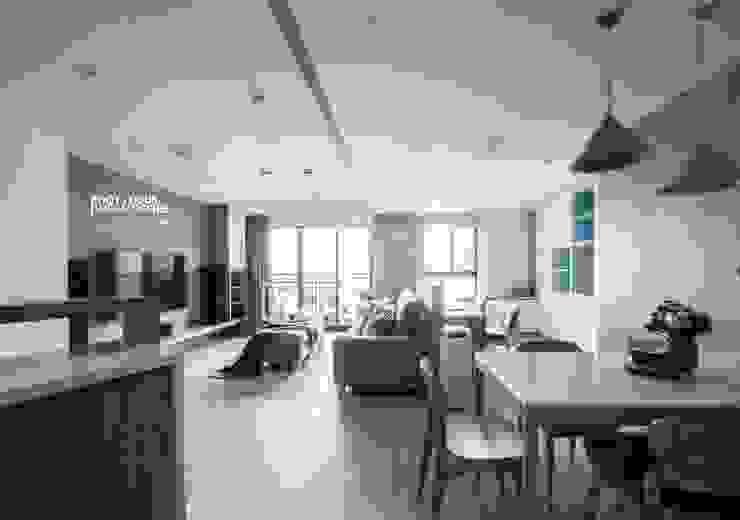 台中賴公館 築本國際設計有限公司 客廳
