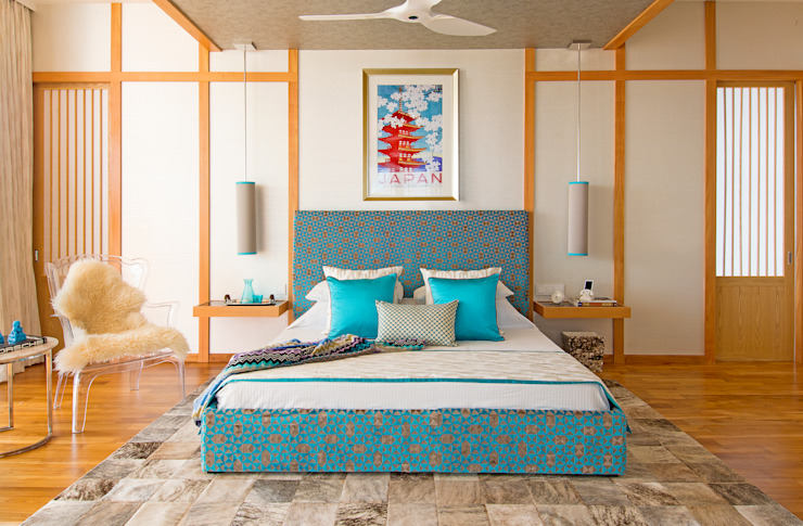 Japanese Bedroom Design by Design Intervention Asian style bedroom by Design Intervention Asian