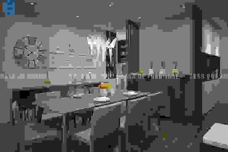 Salas de jantar modernas por Công ty TNHH Nội Thất Mạnh Hệ Moderno OSB