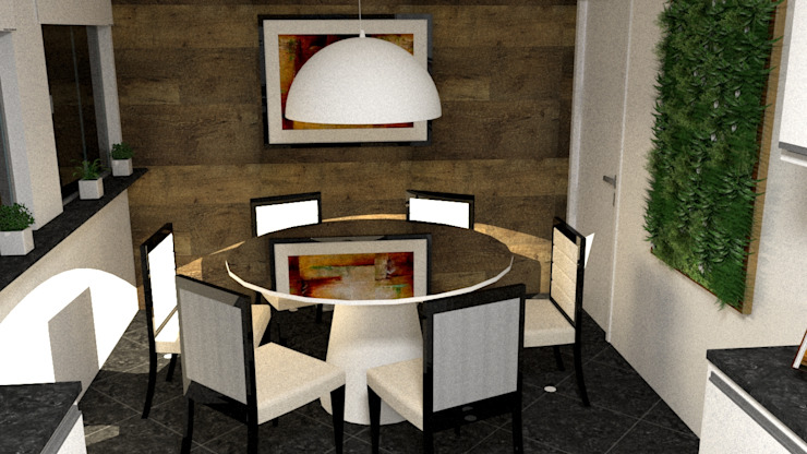 Modern dining room by Silvana Lima e UrbanaDI Modern