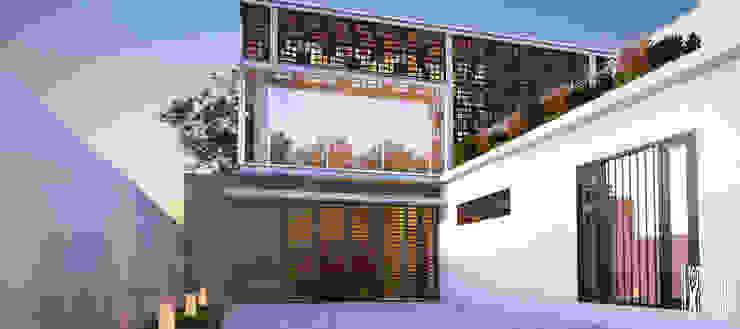Rumah Batu Layar Oleh Papan Architect