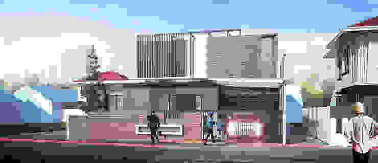 Rumah Kos Condong Catur Oleh Papan Architect