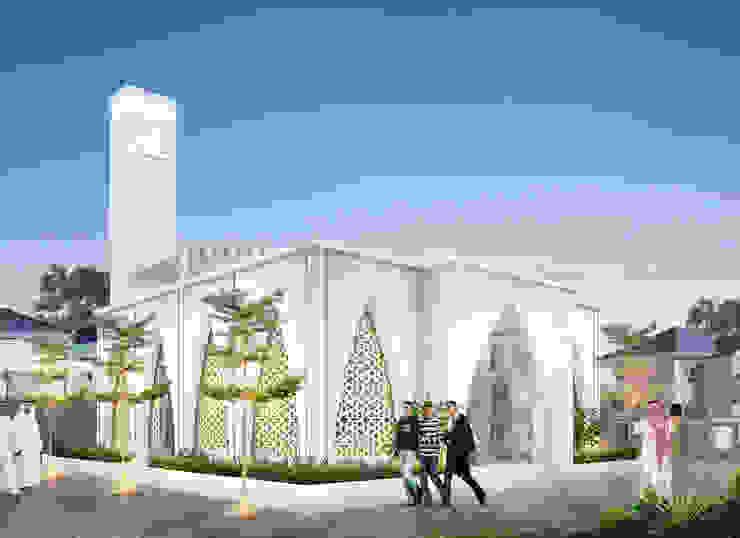 Mushola Nurul Halifah Oleh Papan Architect