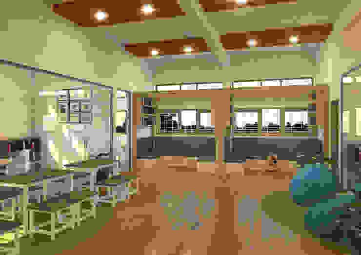 Interior LEM FKT UGM Oleh Papan Architect
