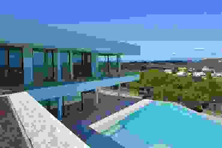 Vista desde terraza ecológica de ARKUM Moderno