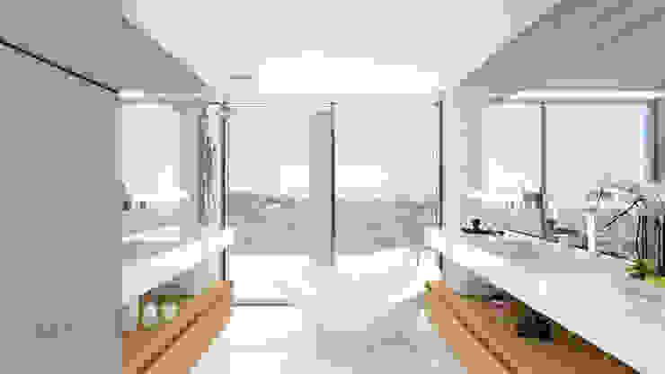 Baño principal Baños modernos de ARKUM Moderno