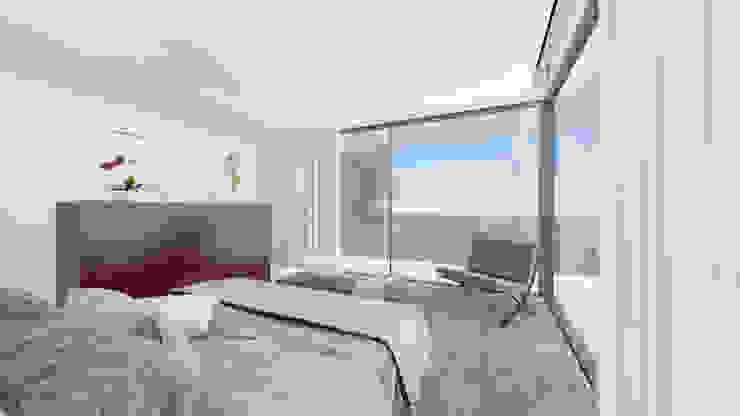 Dormitorio norte Dormitorios modernos: Ideas, imágenes y decoración de ARKUM Moderno
