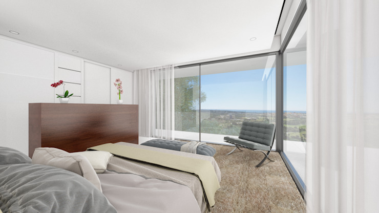 Chambre moderne par ARKUM Moderne