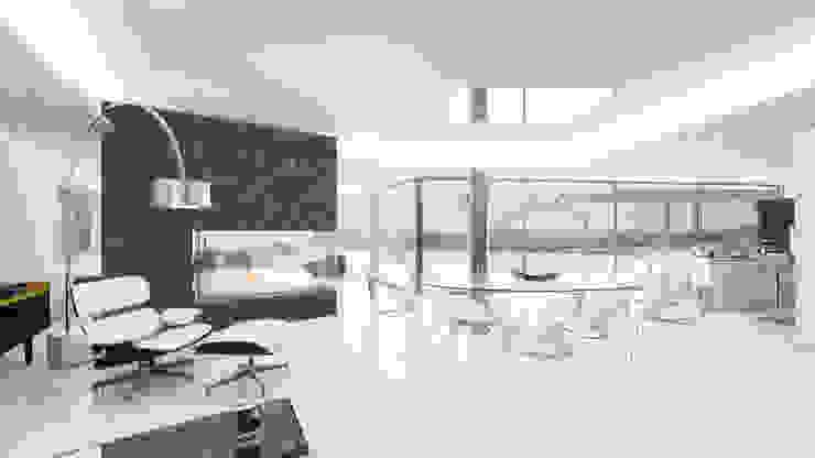 Salón Livings modernos: Ideas, imágenes y decoración de ARKUM Moderno