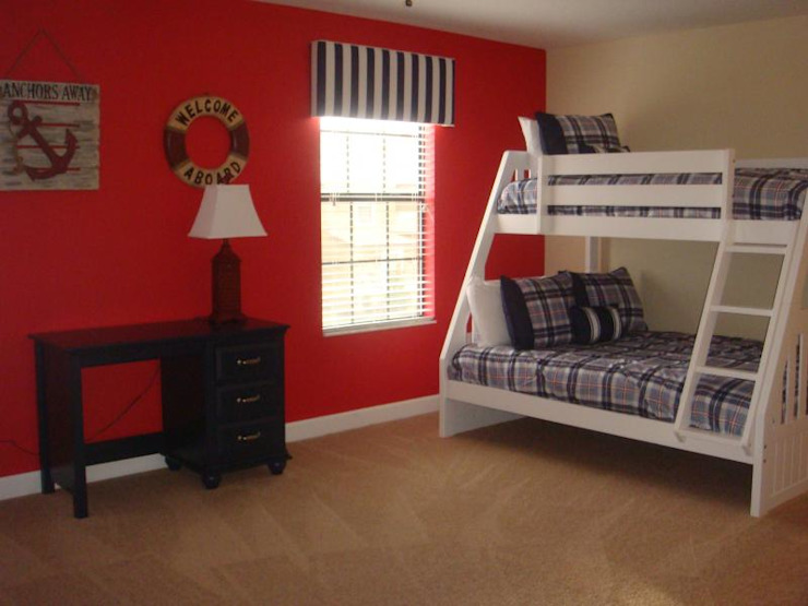 KIDS ROOM WITH BUNK BED by decormyplace Modern Plywood