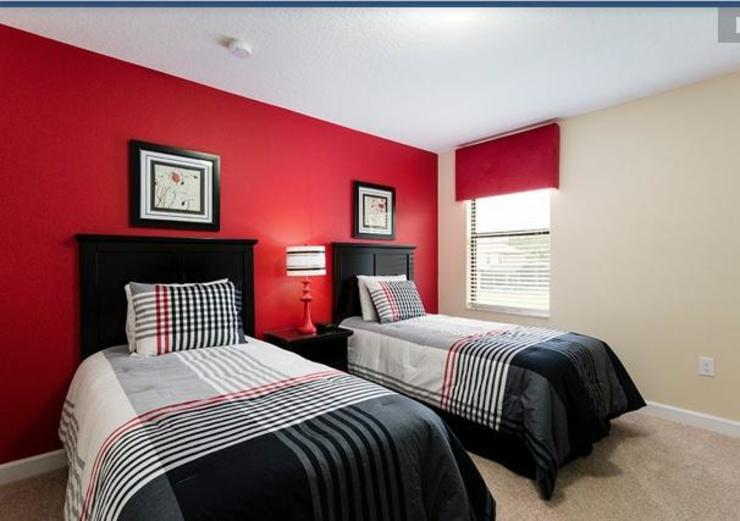 red colour kids room Modern style bedroom by decormyplace Modern Plywood
