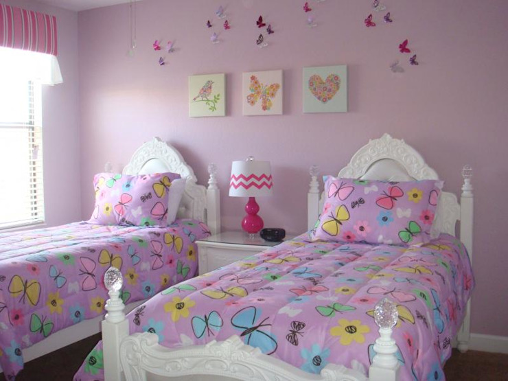 kids girl room Modern style bedroom by decormyplace Modern Plywood