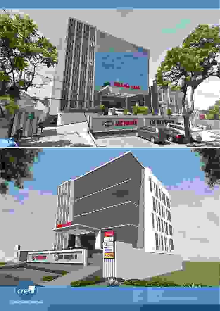 Graha EMG Office Bangunan Kantor Modern Oleh Crea architect Modern Kaca