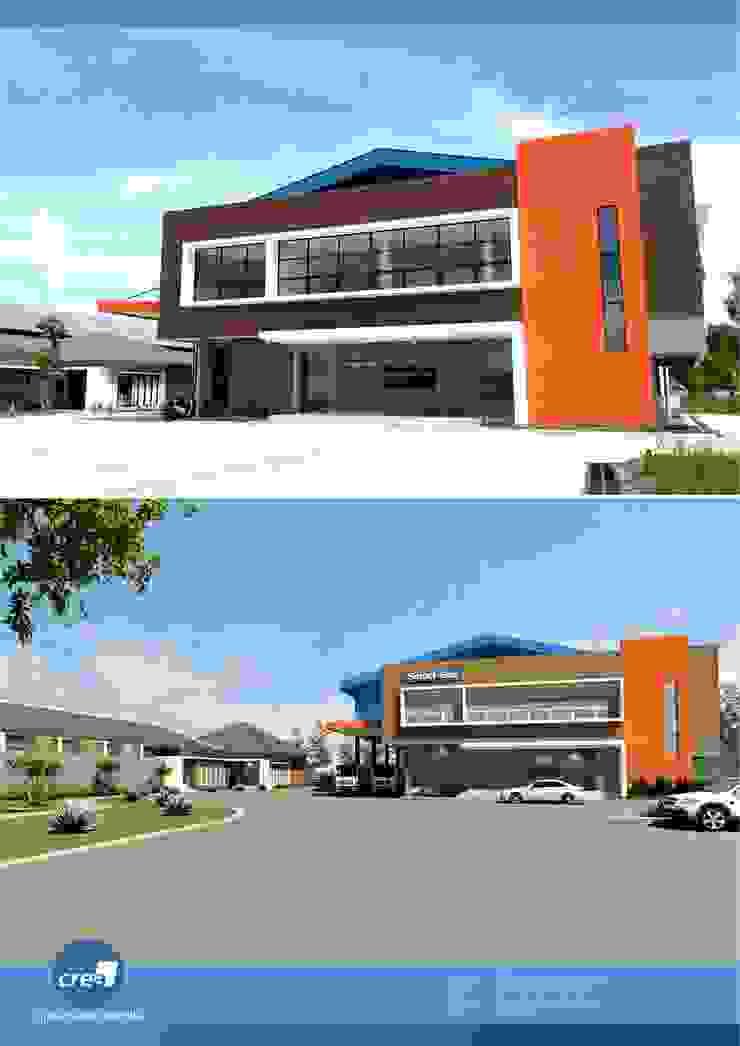 Smartgas Office & Factory Oleh Crea architect Minimalis