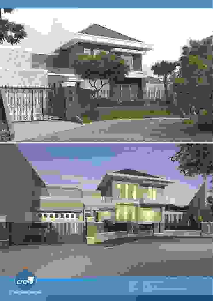 Citraland Selat Golf Residential Oleh Crea architect Minimalis Batu Bata