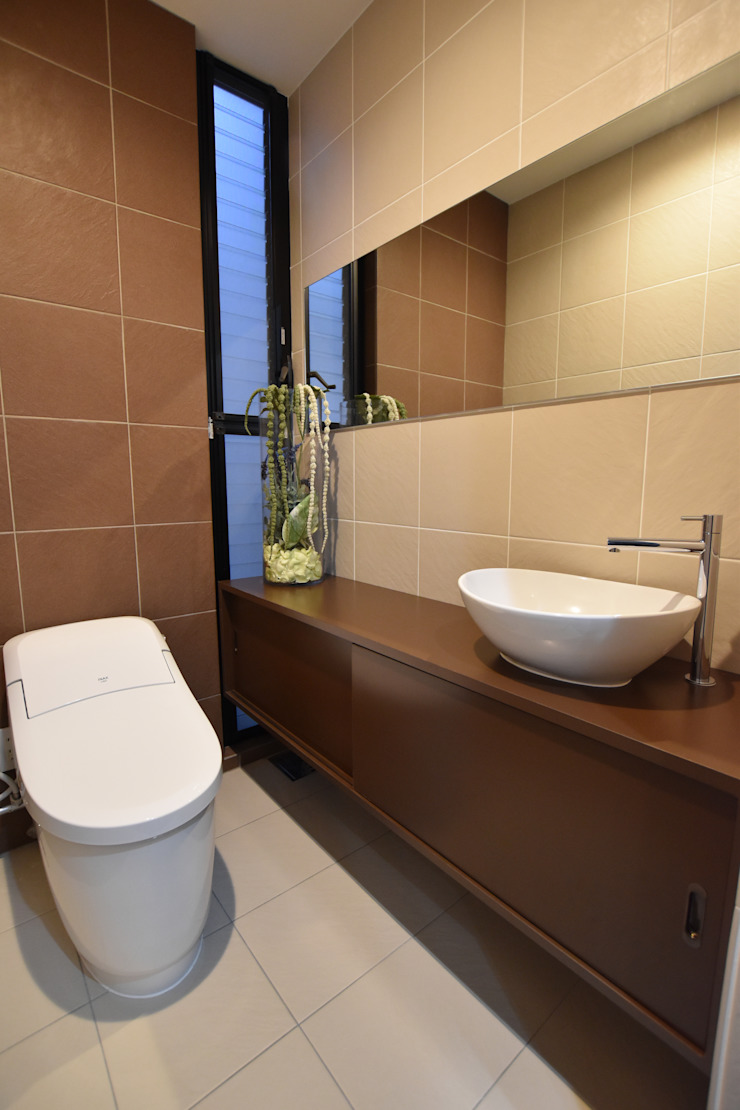トイレ: Style Createが手掛けた現代のです。,モダン