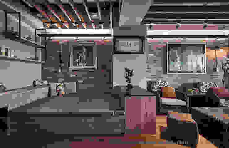 休憩睡眠平台 Hi+Design/Interior.Architecture. 寰邑空間設計 臥室 木頭 Wood effect