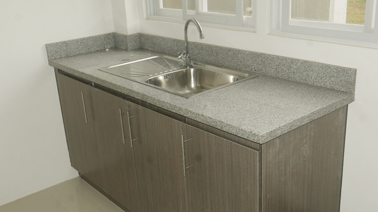 Salt and Pepper Granite Kitchen Countertop in Talamban Cebu City by Stone Depot Modern