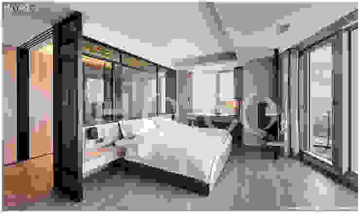 次主臥室 根據 光合作用設計有限公司 現代風