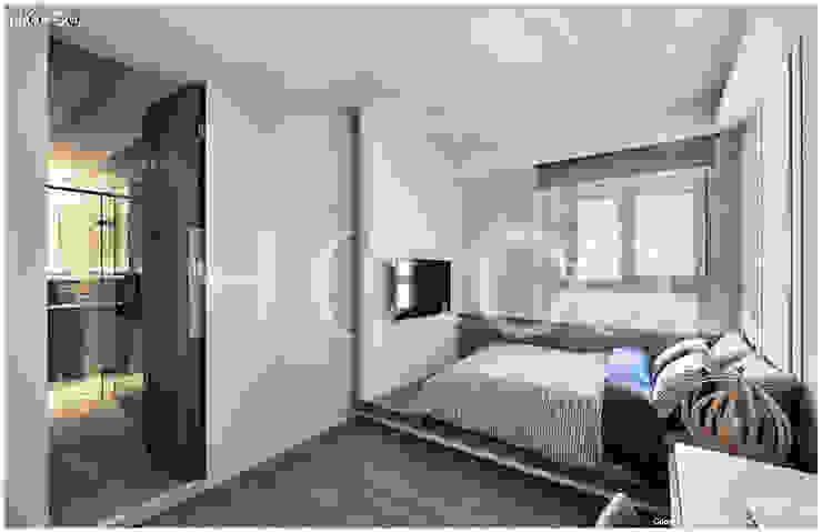 客用臥室 根據 光合作用設計有限公司 現代風