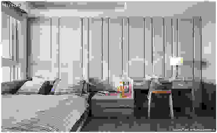 客臥室 根據 光合作用設計有限公司 現代風