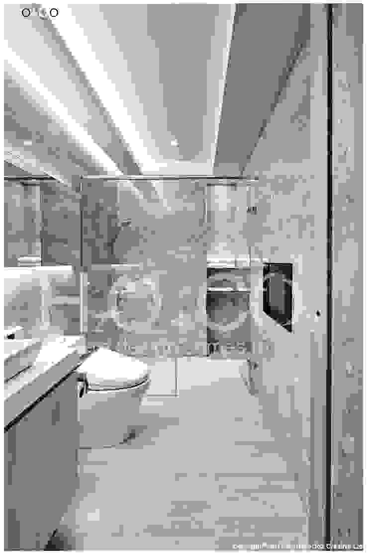 客用衛浴 現代浴室設計點子、靈感&圖片 根據 光合作用設計有限公司 現代風