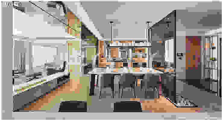 餐廳 根據 光合作用設計有限公司 現代風