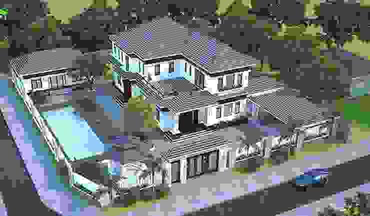 Xu hướng thiết kế biệt thự đẹp 2019 bởi Thiết kế nhà đẹp ở Hồ Chí Minh