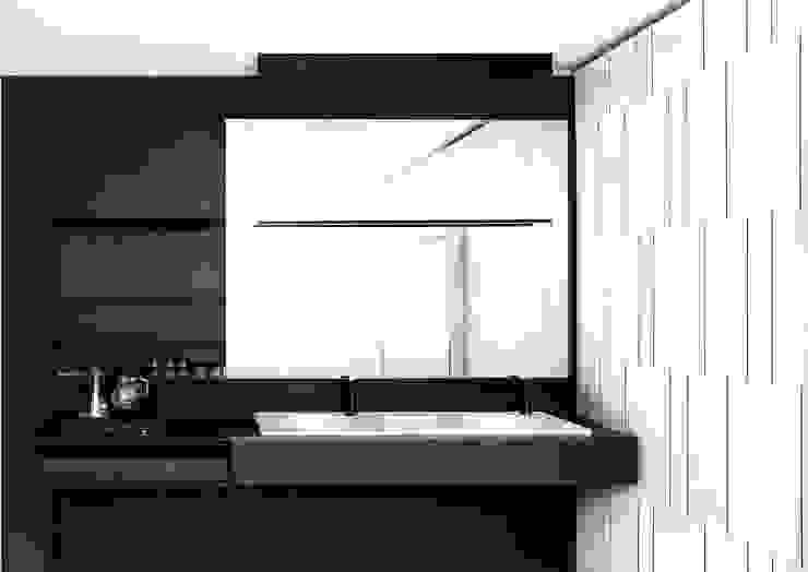 Casa de Banho Casas de banho modernas por Nuno Ladeiro, Arquitetura e Design Moderno Madeira Acabamento em madeira