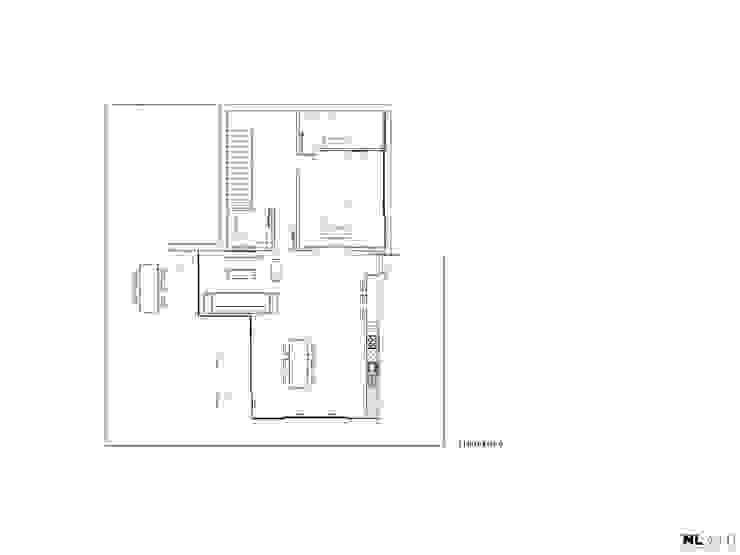 Planta Piso 0 por Nuno Ladeiro, Arquitetura e Design