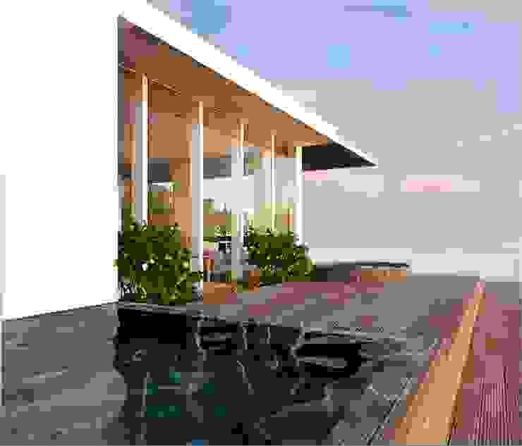Simulação 2 Piso 2 - Jacuzzi por Nuno Ladeiro, Arquitetura e Design Moderno