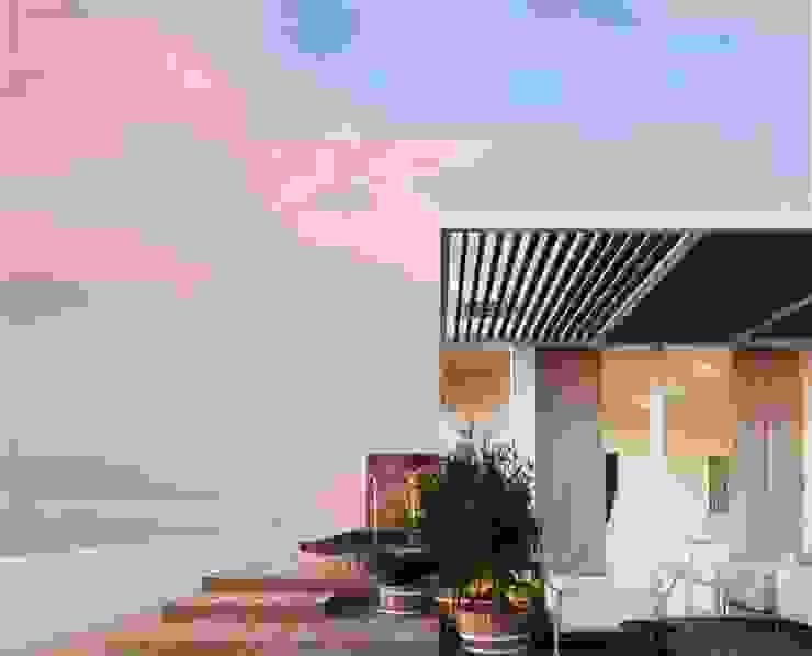 Simulação 3 - piso 2 Casas modernas por Nuno Ladeiro, Arquitetura e Design Moderno