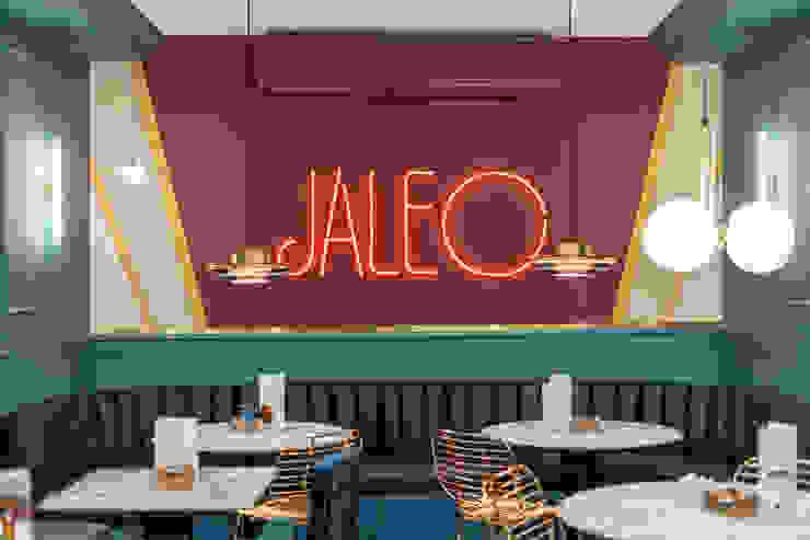 Mural Jaleo: Bares y Clubs de estilo  de Guille Garcia-Hoz, interiorismo y reformas en Madrid, Moderno Plástico