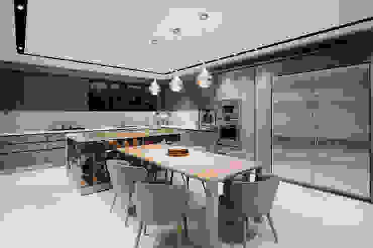 evin mutfağından görsel-2 Modern Mutfak homify Modern Cam