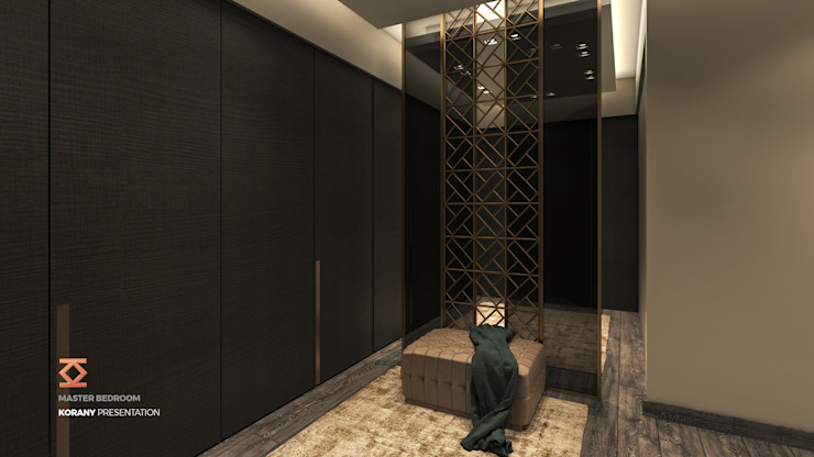 Dressing Room | Master Bedroom Modern dressing room by ICONIC DESIGN STUDIO Modern