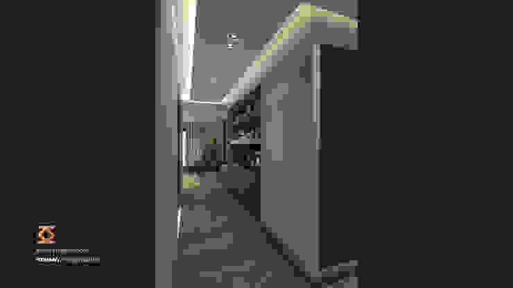 Master Bedroom Modern corridor, hallway & stairs by ICONIC DESIGN STUDIO Modern