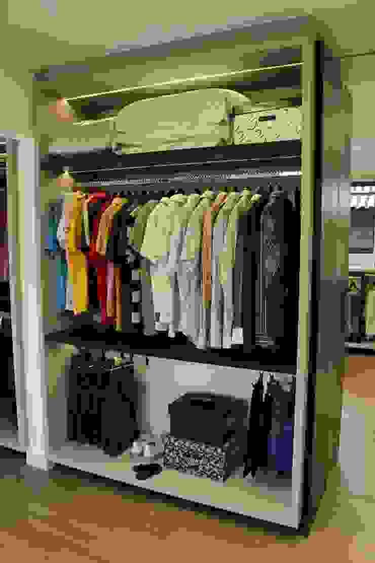 Reforma de residência em Ijuí-RS Cláudia Legonde Closets MDF Branco