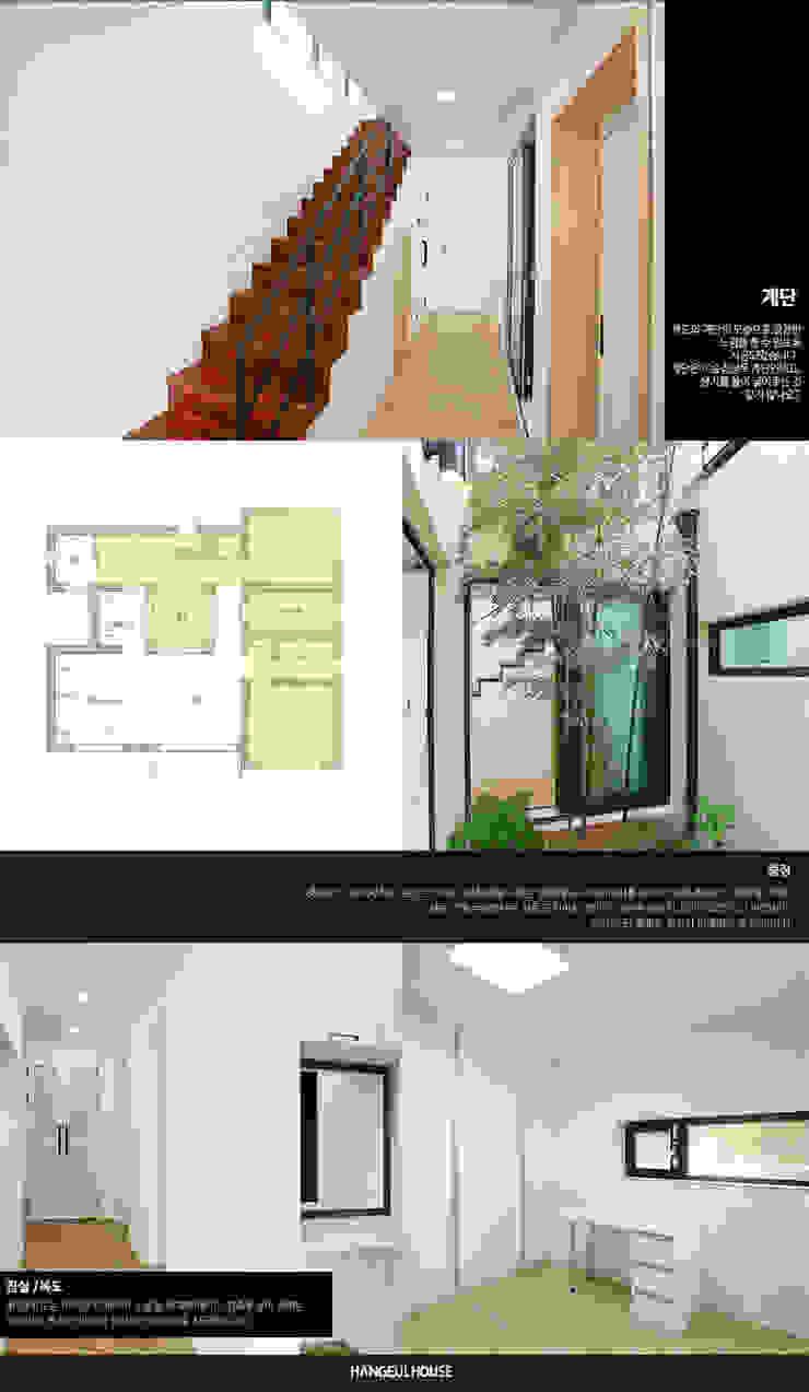 Anexos de estilo moderno de 한글주택(주) Moderno