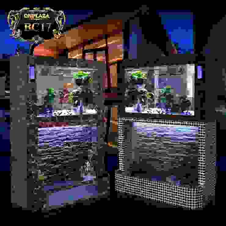 Bể thủy sinh 2 tầng chân khảm đá cao cấp BC17 bởi Công Ty Thi Công Và Thiết Kế Tiểu Cảnh Non Bộ