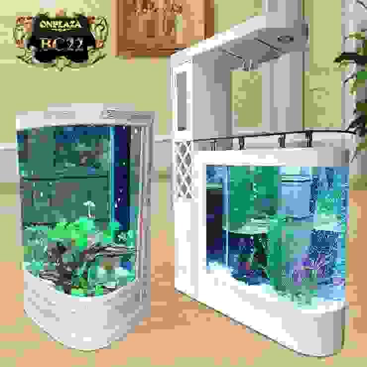 Bể cá thủy sinh cao cấp chạm hoa văn đẹp BC22 bởi Công Ty Thi Công Và Thiết Kế Tiểu Cảnh Non Bộ