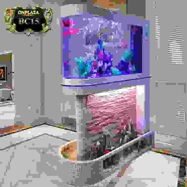 Bể cá thủy sinh thiết kế đặc biệt nhập khẩu cao cấp BC15 bởi Công Ty Thi Công Và Thiết Kế Tiểu Cảnh Non Bộ