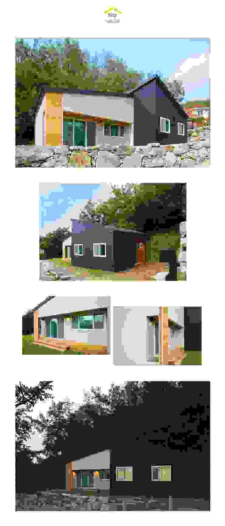 자연과 함께 숨쉬는 전원주택_외관 클래식스타일 주택 by 공간제작소(주) 클래식