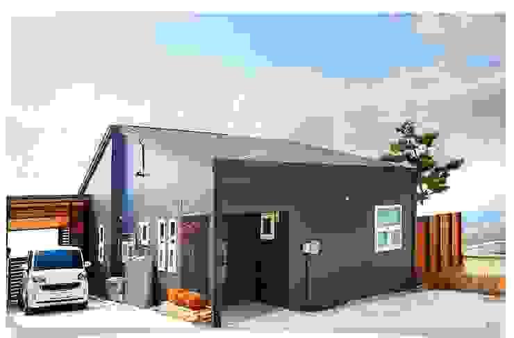 마당에 자연을 담은 전원주택 클래식스타일 주택 by 공간제작소(주) 클래식