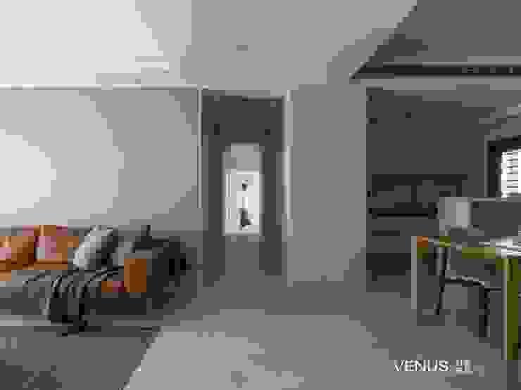 沙發訂製: 現代  by VENUS訂製家具, 現代風 皮革 Grey