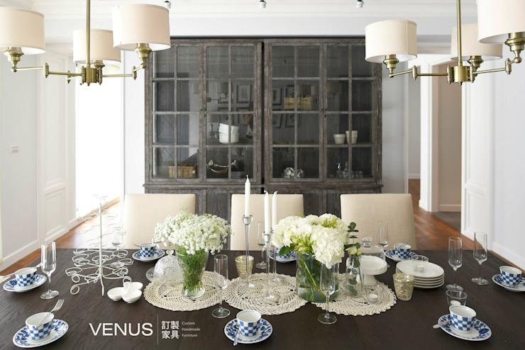 餐椅、沙發訂製: 斯堪的納維亞  by VENUS訂製家具, 北歐風
