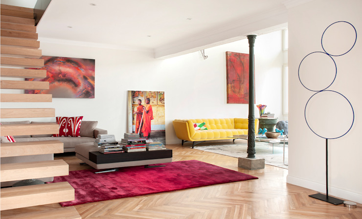 Abrils Studio Modern Living Room
