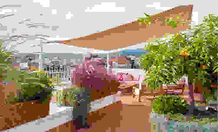 Terraza Balcones y terrazas de estilo moderno de Abrils Studio Moderno
