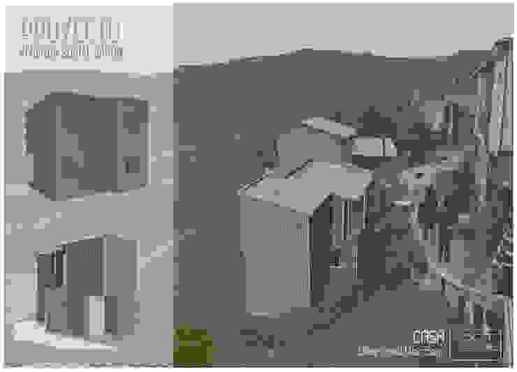 Casas modernas de Materia prima arquitectos Moderno