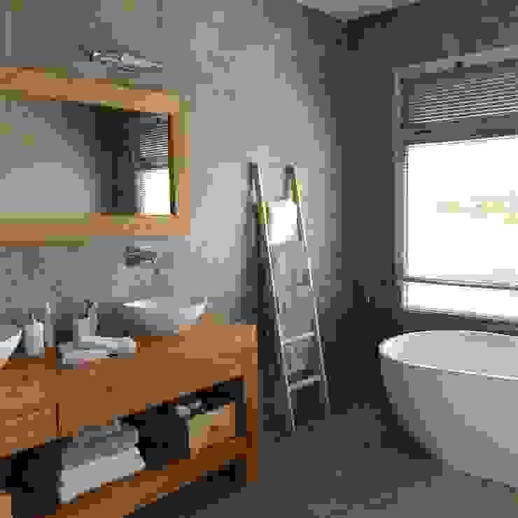ห้องน้ำ โดย Arq. Stuart Milne ,